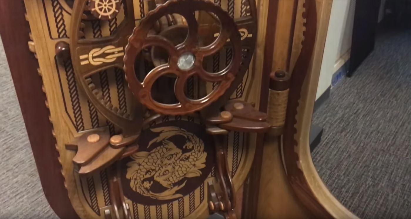 This Insanely Intricate Nautical Door Will Keep the Kraken Out