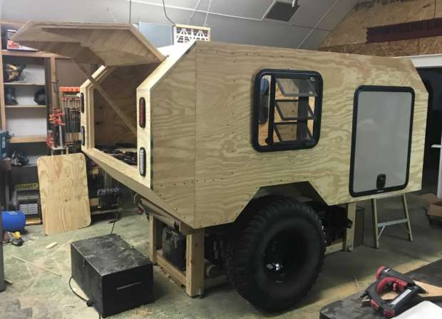 The Foxtail is a Teardrop Camper on Steroids | Make: