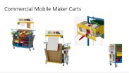 Commercial Mobile Making Cart