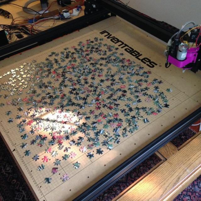Transform a CNC Machine Into a Pick and Place Robot that Solves Puzzles