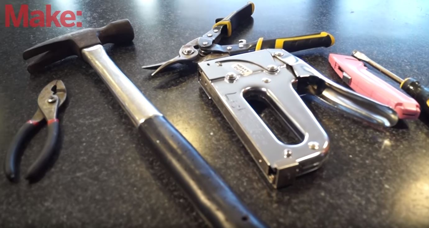 Repairing Cheap Furniture With Simple Tools