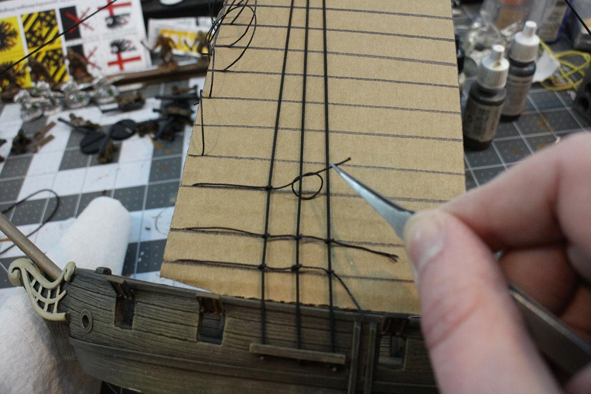 How to Rig a Model Ship | Make: