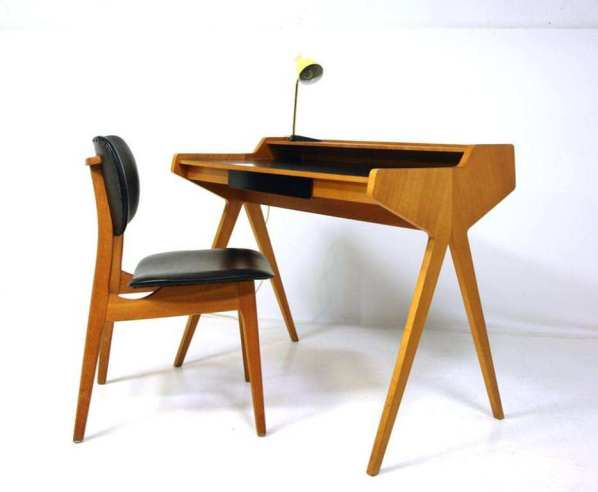 Danish-mid-Century-Modern-Desk-Chair | Make: DIY Projects ...