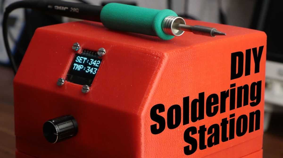 Making Your Own Soldering Station Make On From Arduino For Dummies Article Featured Image