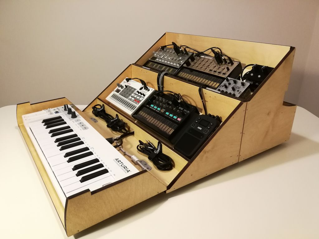 Jam Anywhere with this Foldable Synth Case