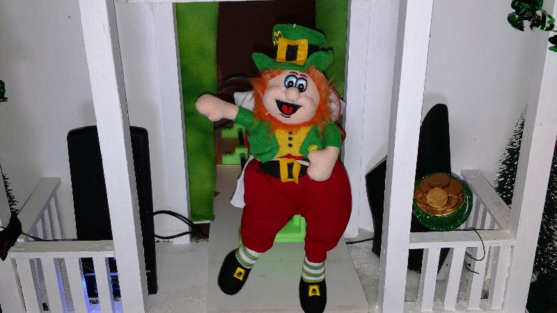 This Dancing Leprechaun Doll is the Life of the Party