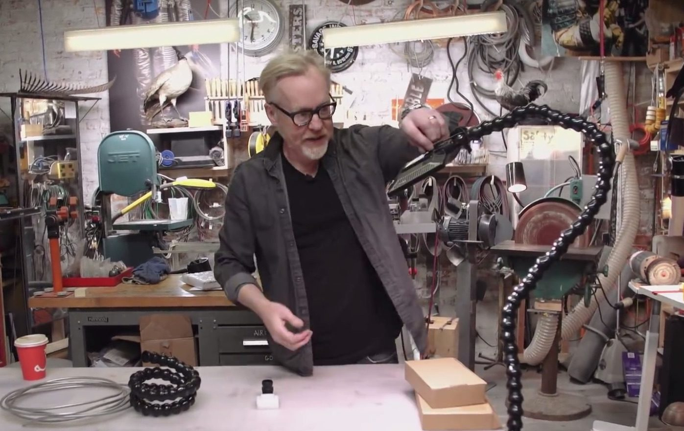 Building a Loc-Line Close-Up Work Light with Adam Savage