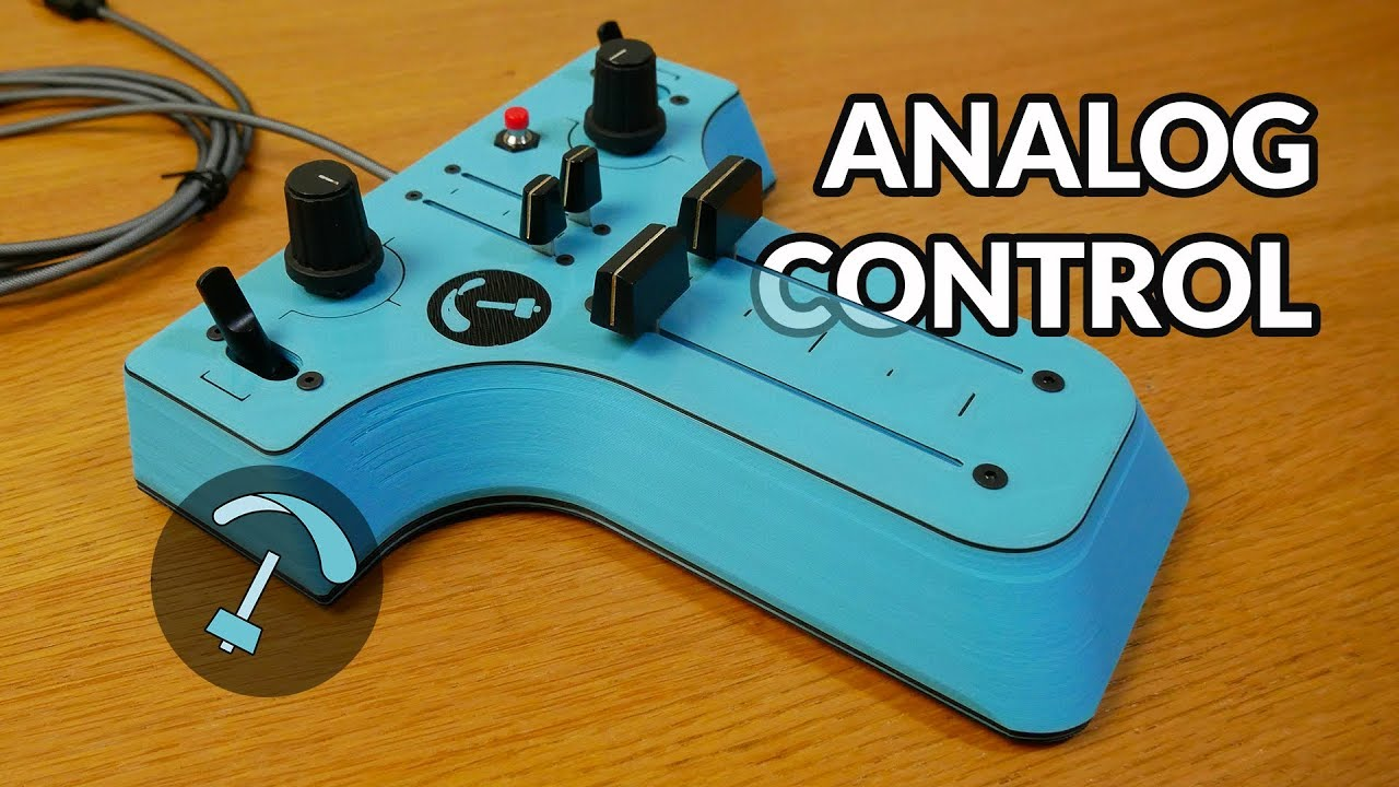 Construct Your Own Custom Video Game Controller