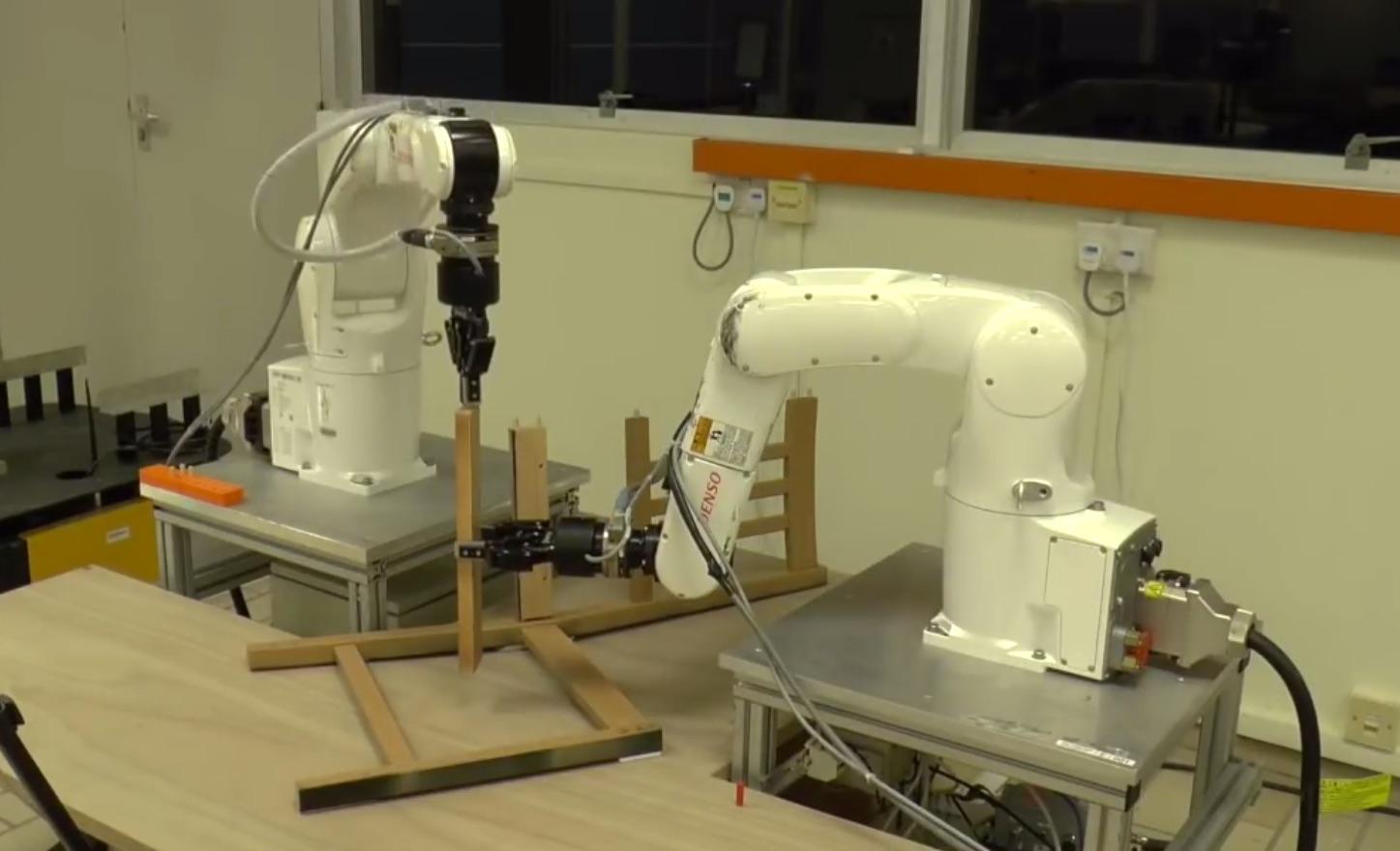 Watch Robots Attempt to Assemble Ikea Furniture