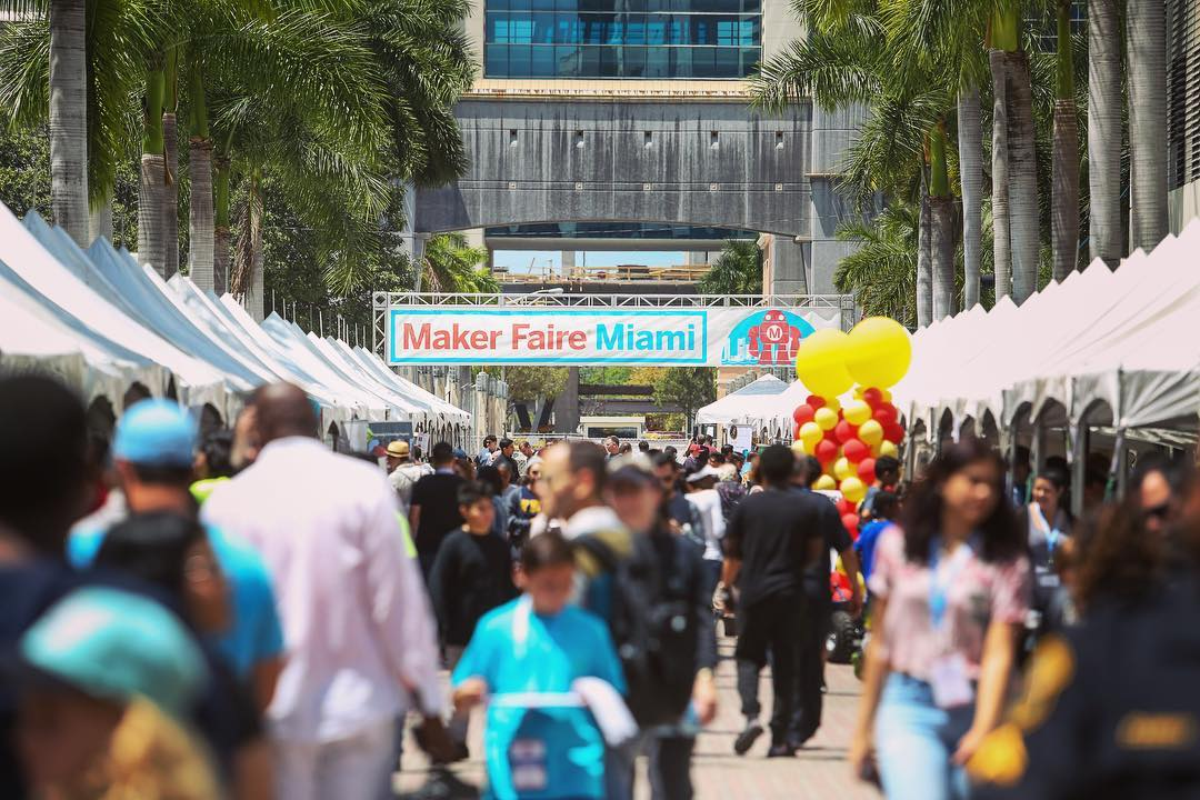 Maker Faire Miami Brings Together Artists, Technologists, and Educators for the Fifth Year