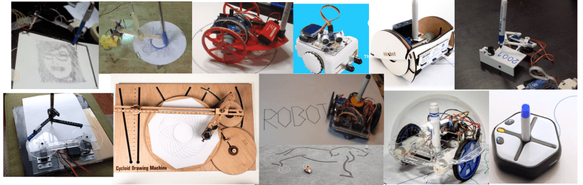 Drawbots and other Retro Robots