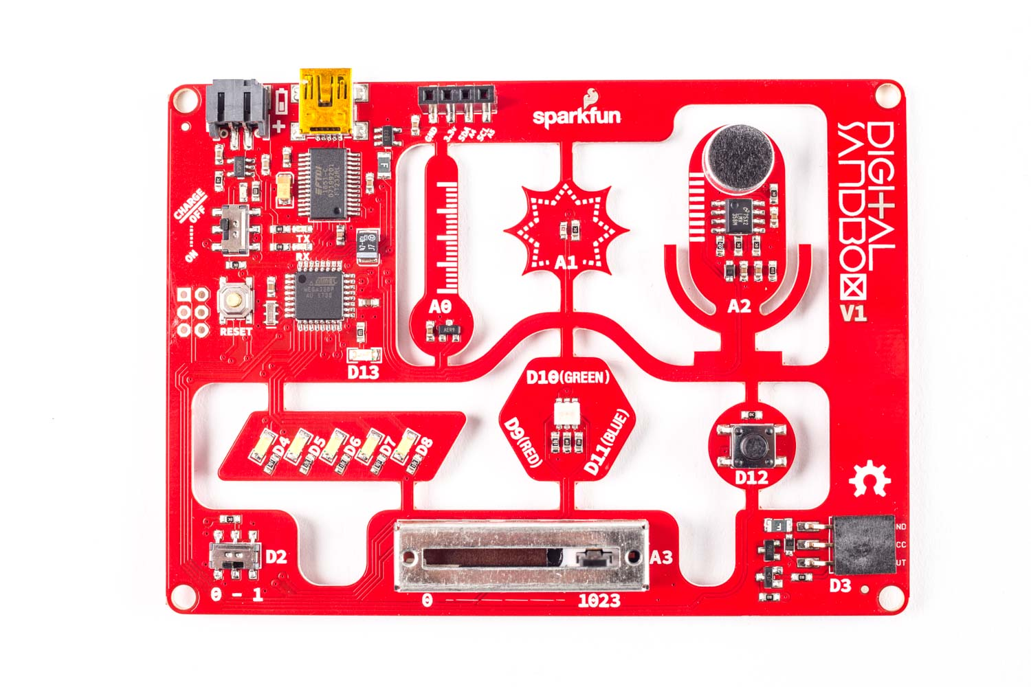 SparkFun Digital Sandbox | Make: DIY Projects and Ideas for Makers