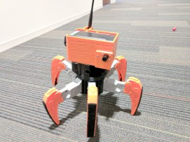 Look out formbrumlow's spider bot, it is on the prowl.