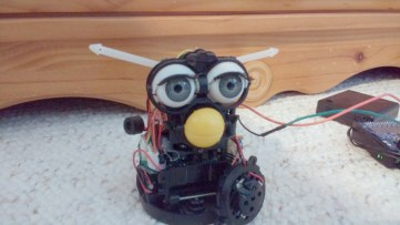 How about a dose of Furby bot byFatmeatball? We are still waiting for a Furby organ!