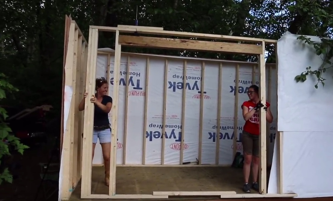 Two Well-Known Makers Build a Tiny House Together
