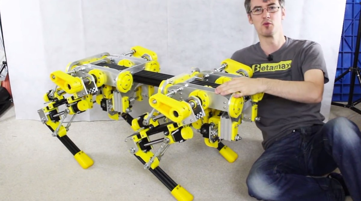 Engineering Serious Robo-Critters with the openDog Project