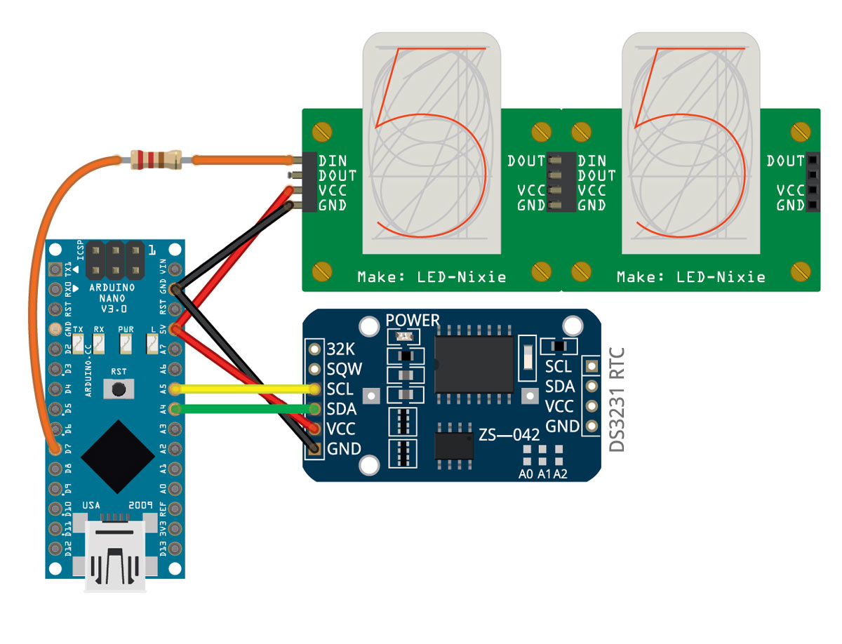 create your own series of rtc circuit board with ease schematic