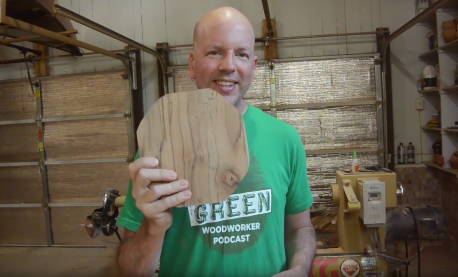 Weekend Watch: Wood Art and Caricatures from Cammie's Garage