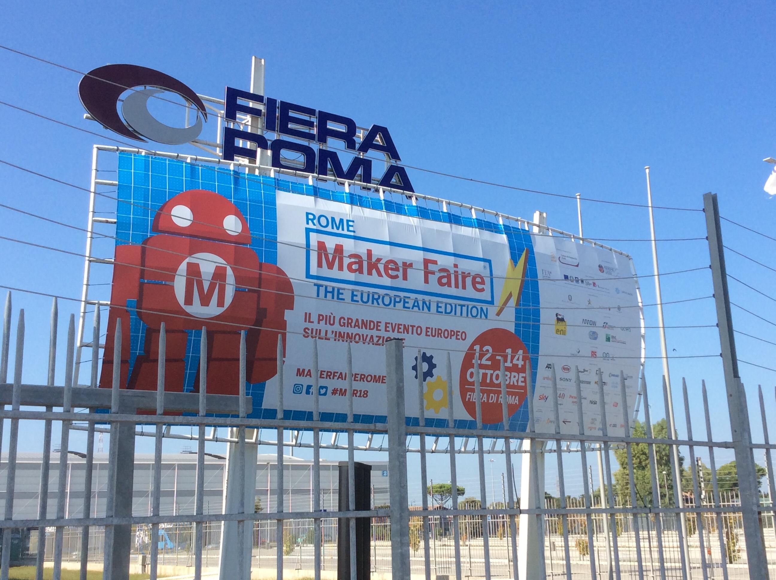 Live: Maker Faire Rome