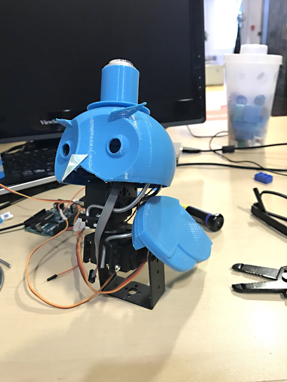 Google AIY Robot Companion | Make:
