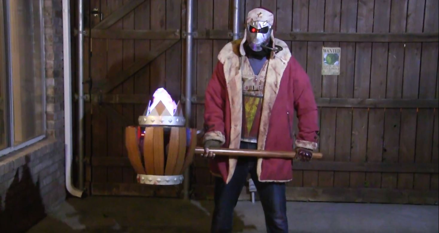 King Dedede's Jet Hammer Comes To Life With This Motorized Cosplay