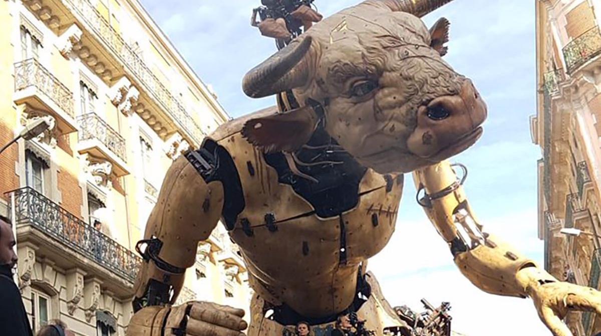 Behind the Scenes With La Machine's Giant Minotaur