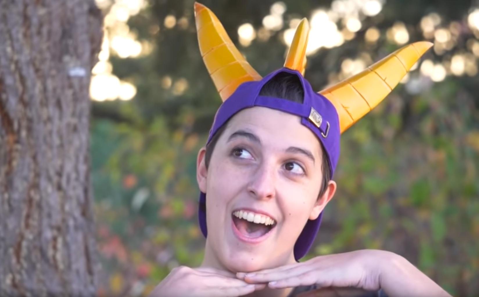 Making a Spyro the Dragon Hat