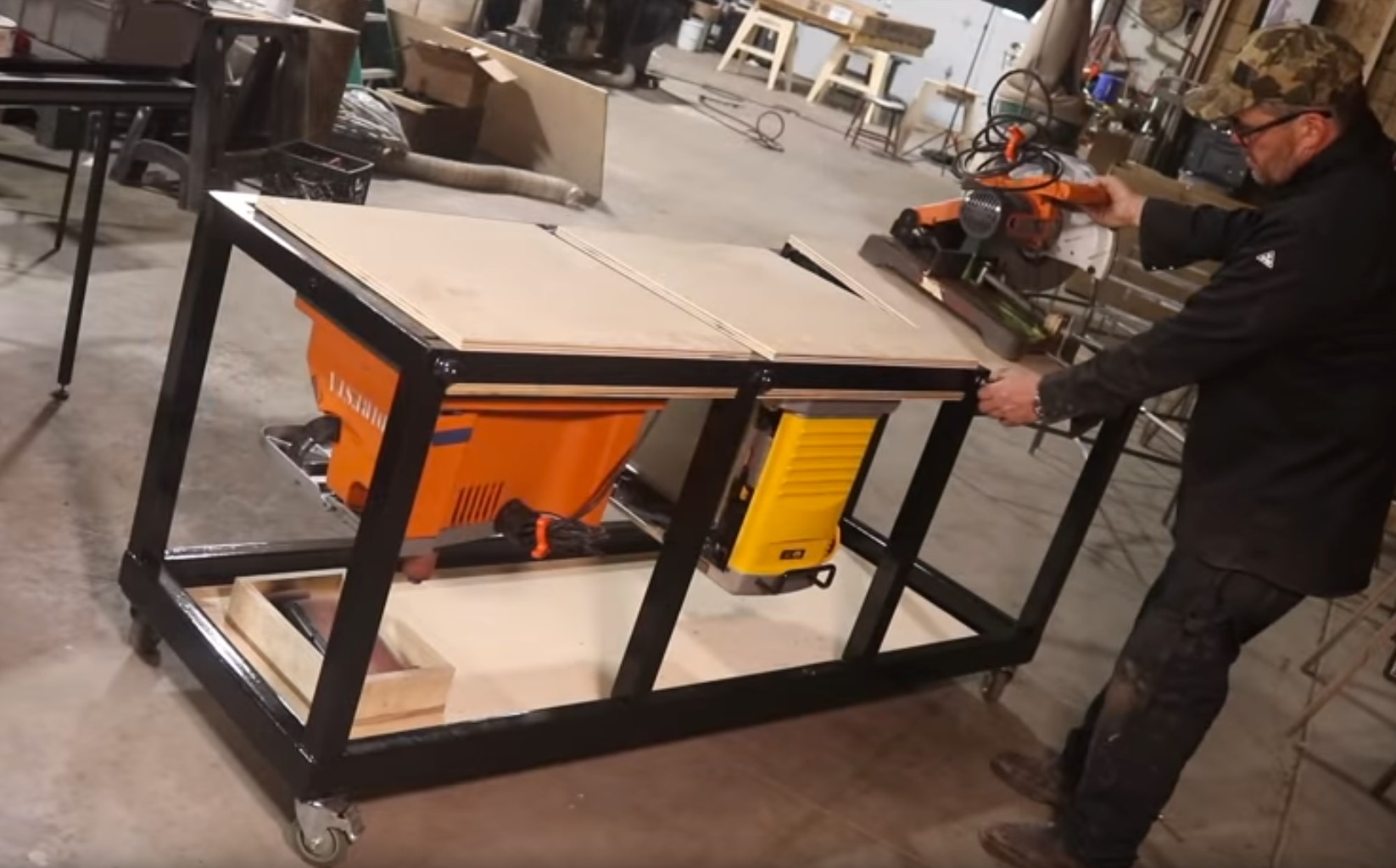 How About Welding Up a Triple-Flip Table?