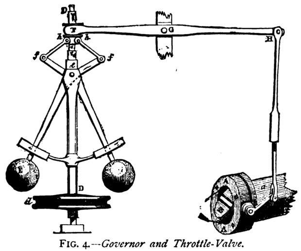 remaking history  james watt and the flyball governor