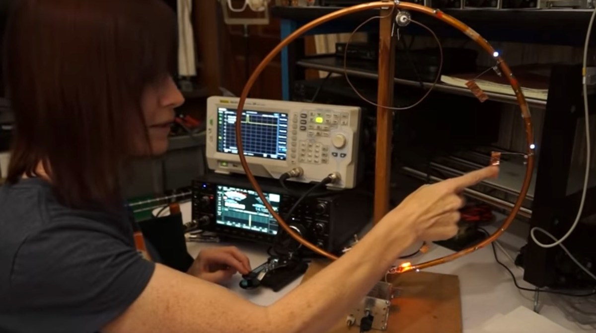 Visualizing How Current and Voltage Behave in a Mag Loop Antenna