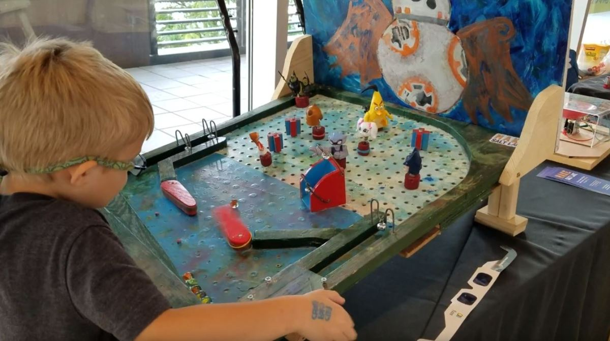 Use Peg Board and Rubber Bands To Make Your Own Pinball Machine | Make:
