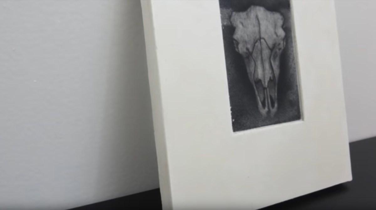 Printmaking Using Nothing But Plaster?