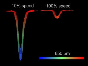 Microfluidic capillary cross-section