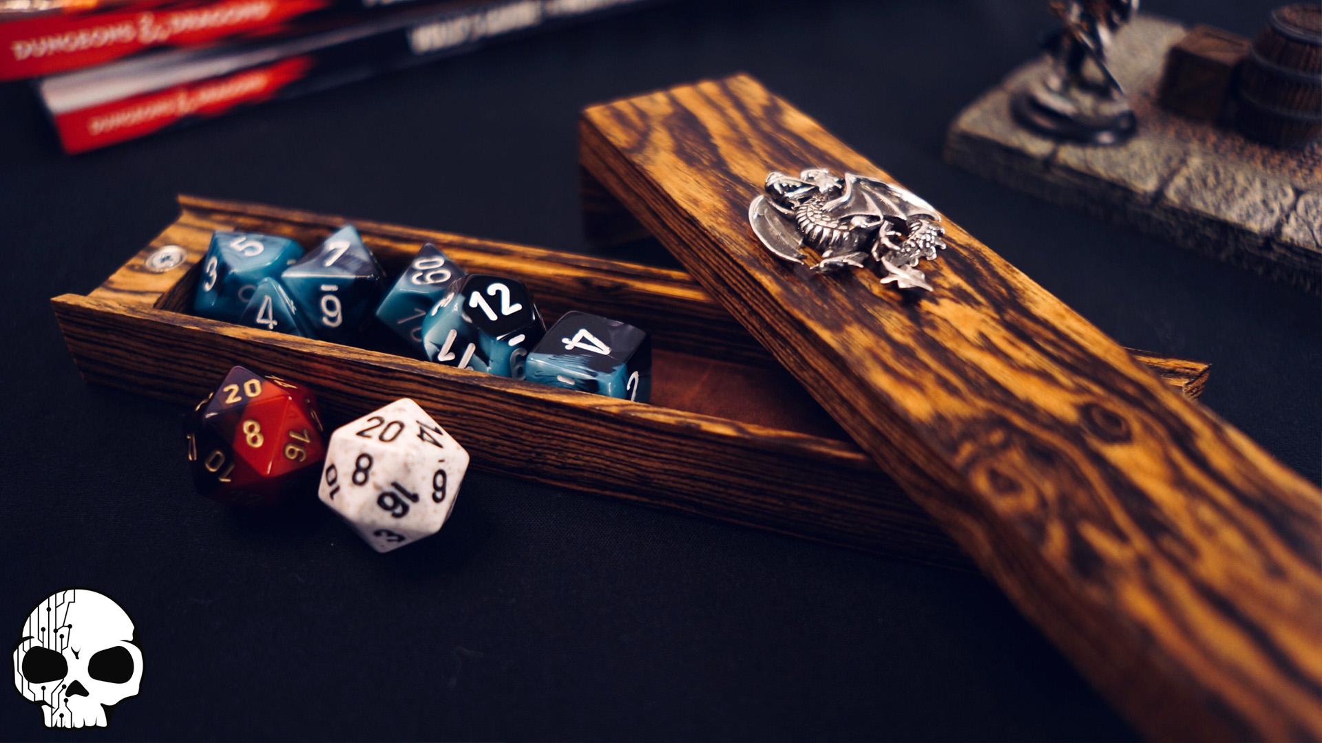 This Wicked Puzzle Box Protects Your Dice