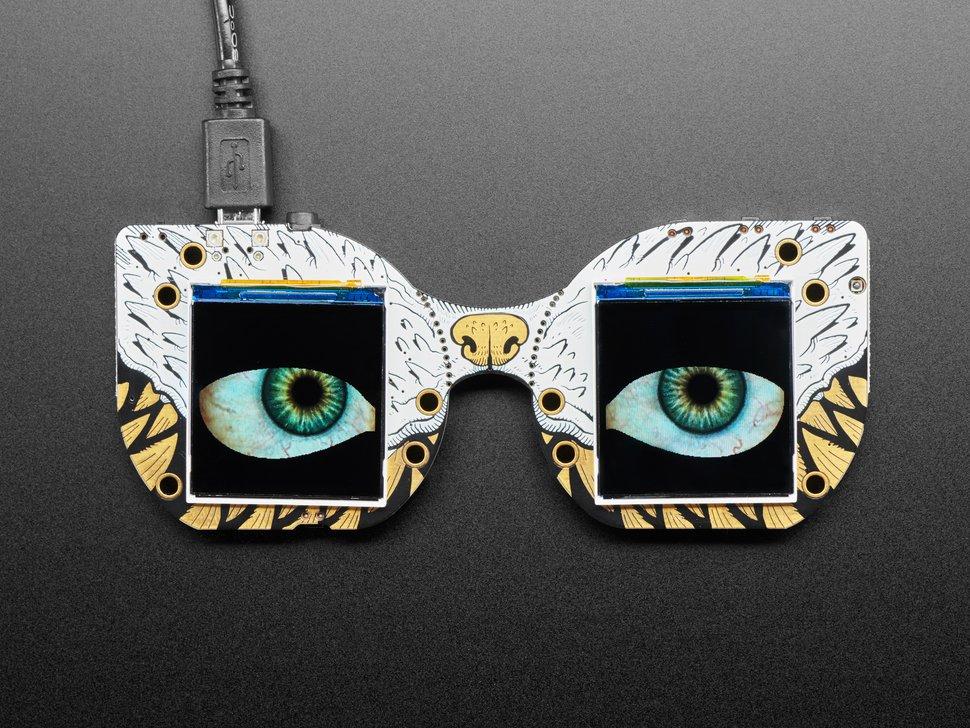 Adafruit Releases The MONSTER M4SK For Your Digital Eyeball Needs