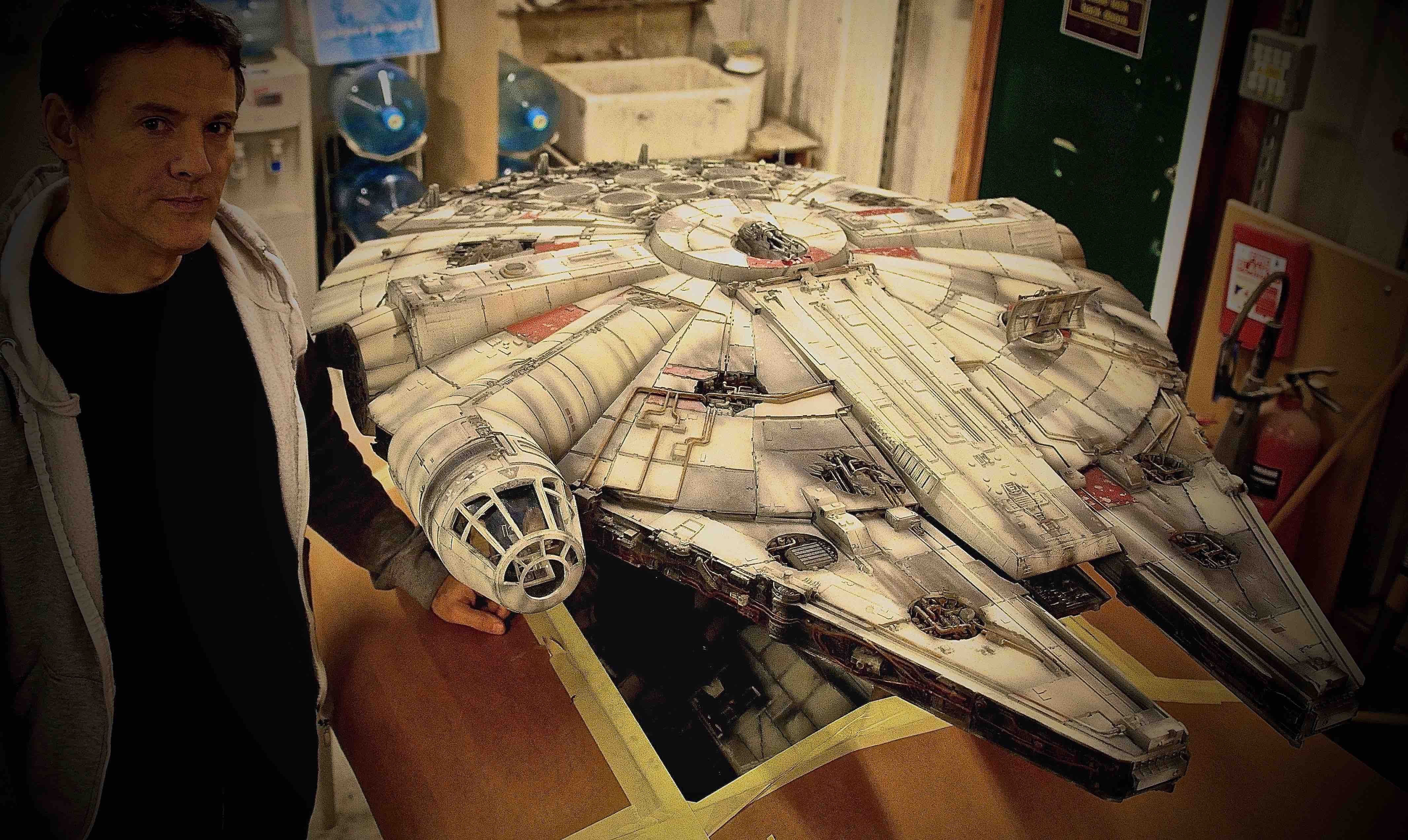 Millennium Falcon Project: A Mad Rush And The Largest 3D Printer In Europe