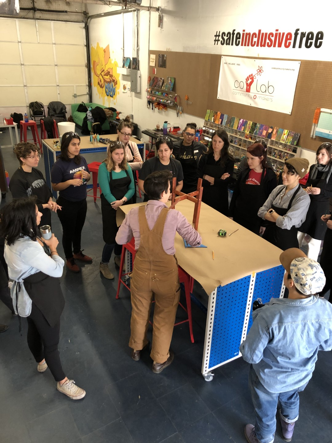 Join Us On November 21 For a LIVE Tour Of Co Lab Community Makerspace