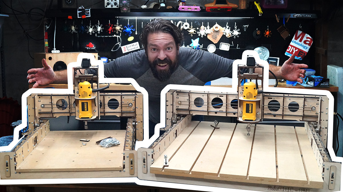 These CNC Routers Are Made of Wood!
