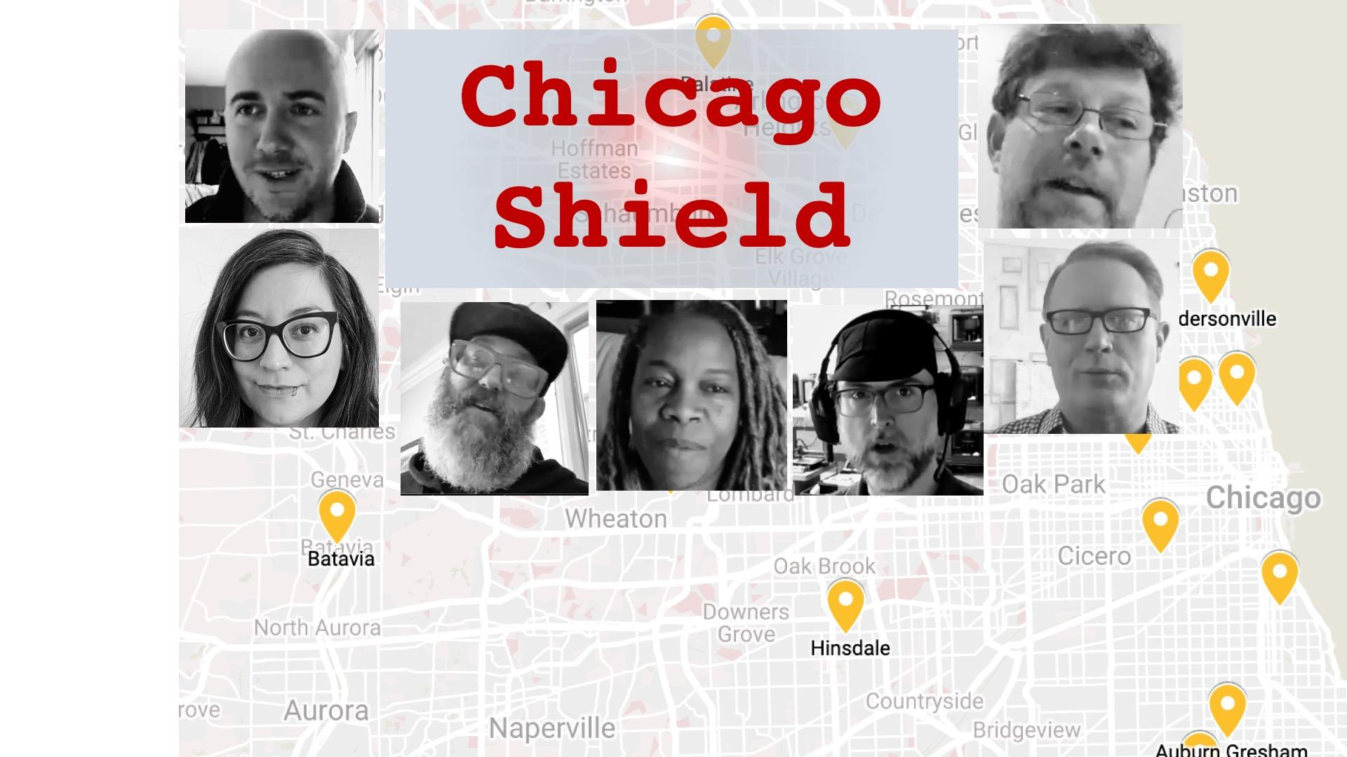 Plan C: Chicago Shield: Part 1 – A Mesh Network for Making Face Shields