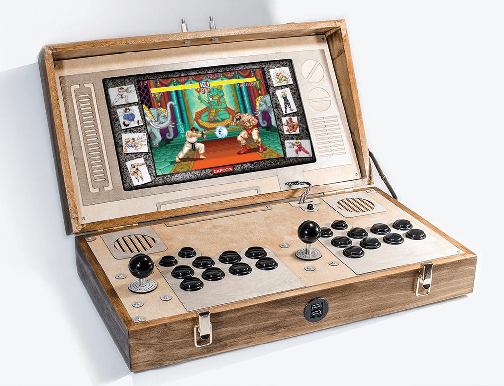 Arcade In A Briefcase   Make: