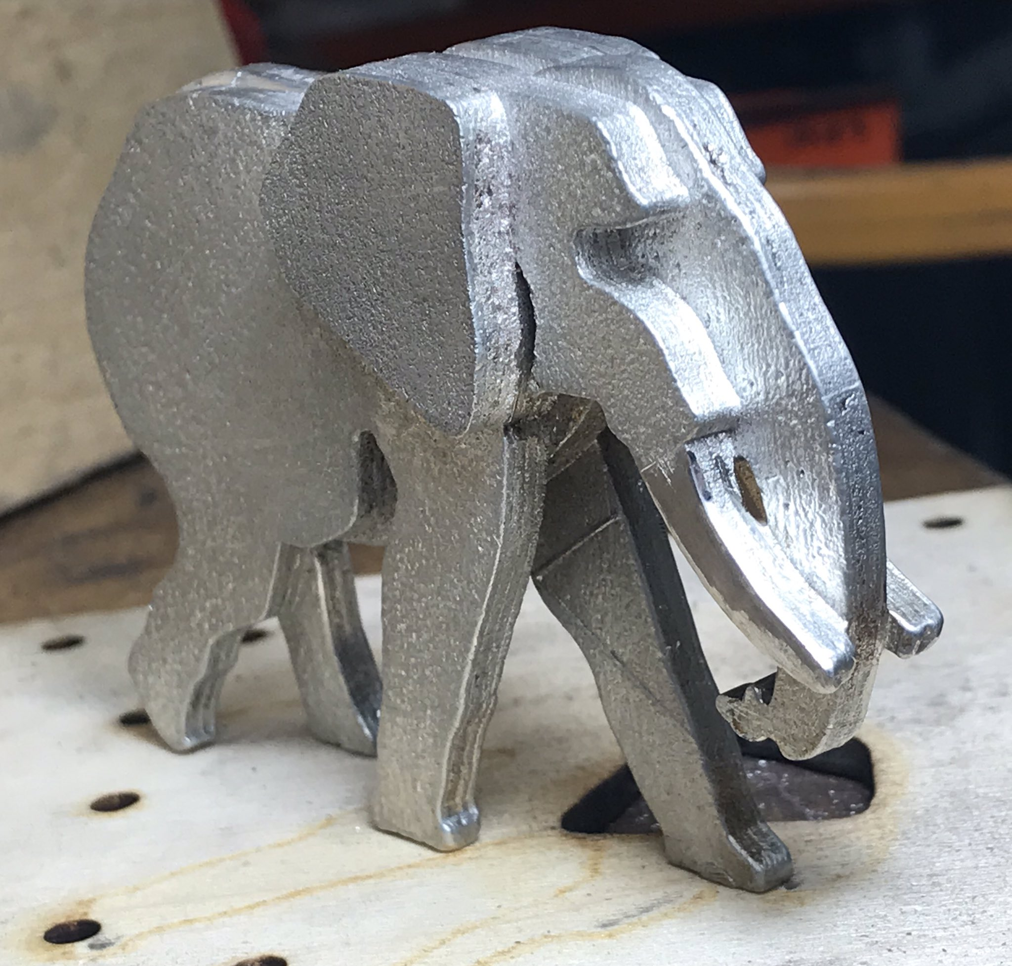 Low Tech Pewter Casting In The Kitchen