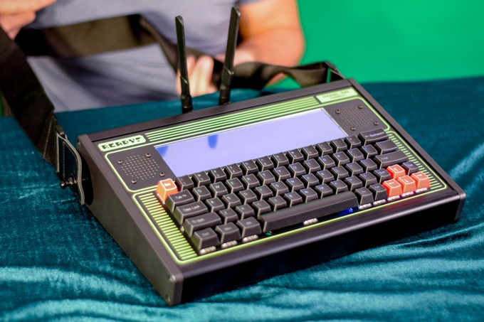 Cool Crowdfunding: Retro Styled Portable Computing, Unique 3D Printing, and A Desktop Robot Arm