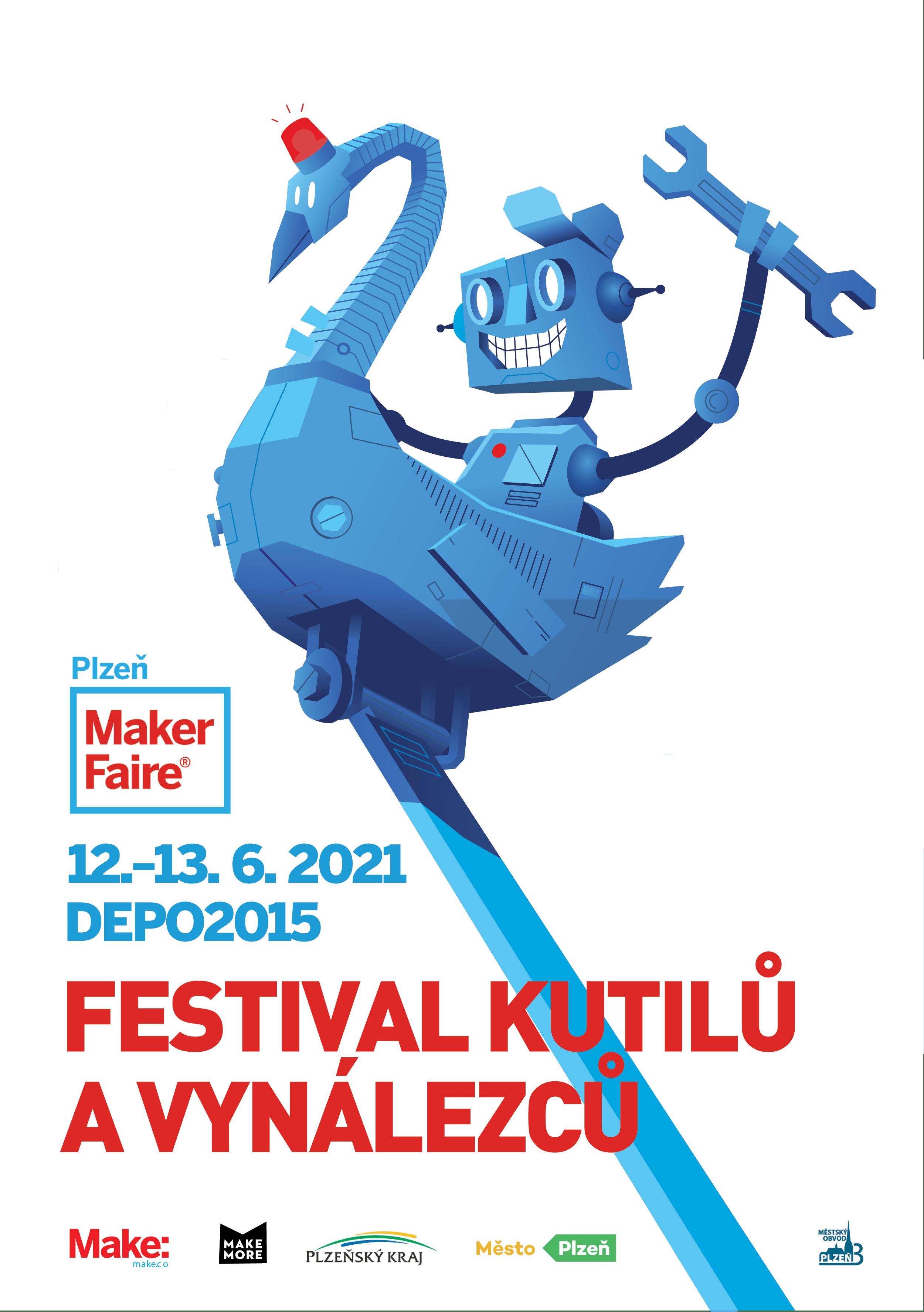 Maker Faire Plzeň 2021 this weekend!