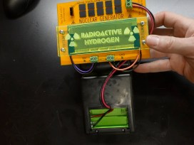 This Gameboy Runs on Nuclear Power