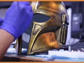 Tutorial: Painting The Mandalorian Armorer Helmet