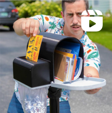 Unnecessary Invention: Junk Mail Shredder (And a Surprise Make: Cameo)