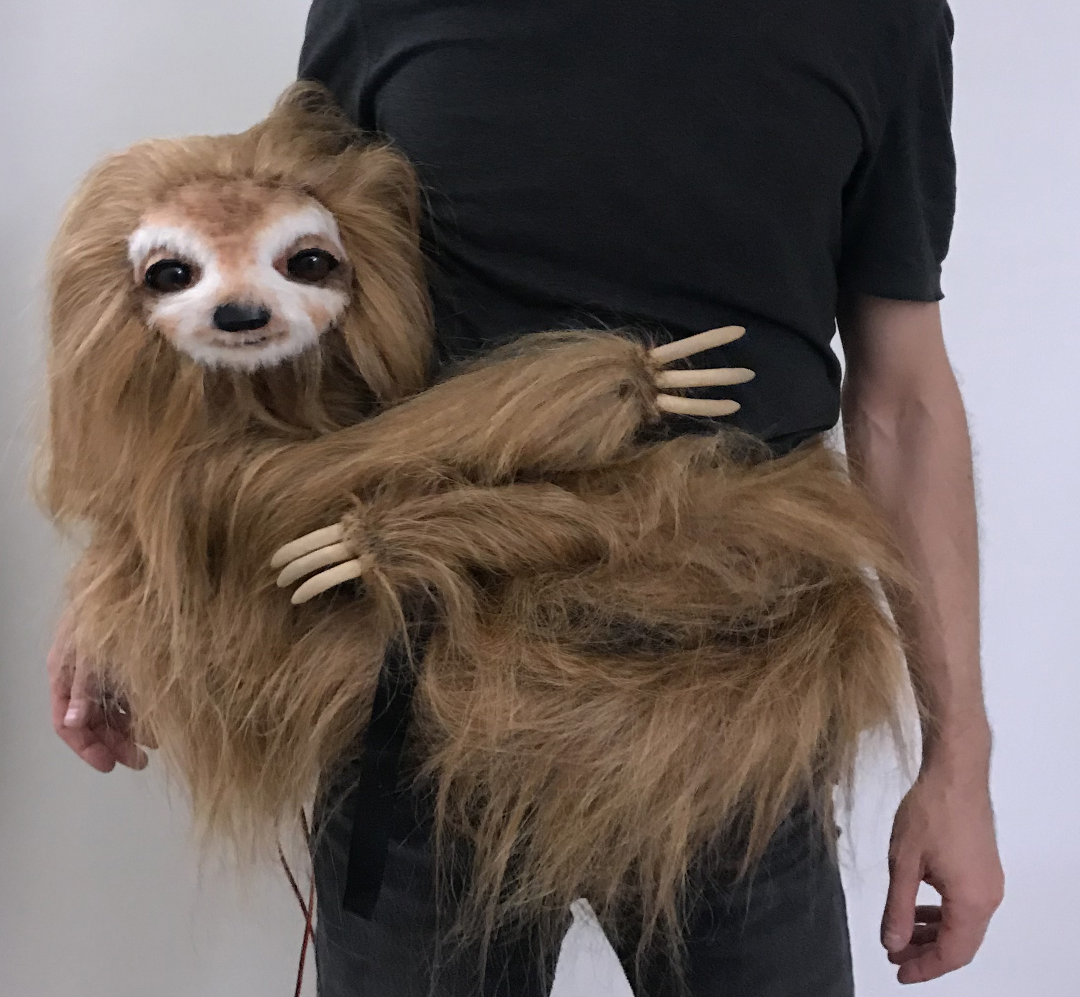 How to Animate a Sloth Puppet