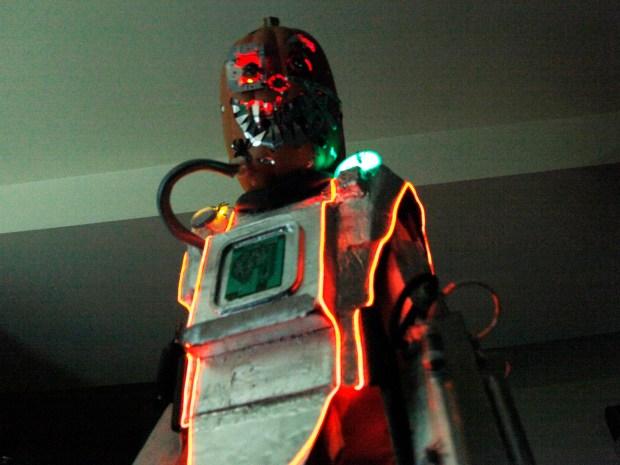 Mutant Cyborg Pumpkin Halloween Costume