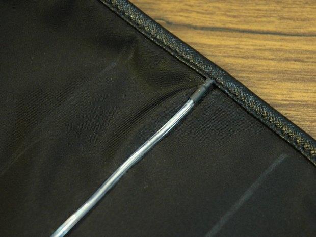 Tron Bag with EL Wire