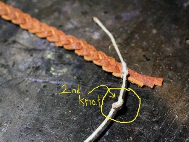 Braided Leather Bracelet